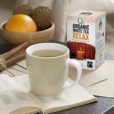 Delicate and prized white tea